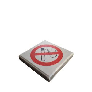 THE DROPPIT - NO SMOKING LITTER ICON